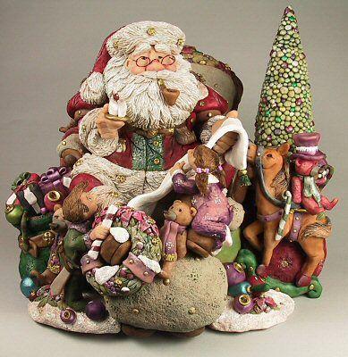 Dennis Brown in Bothell Wa: Santa Art