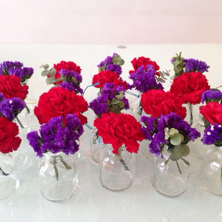 Frascos de flor estatis