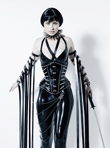 Fantasy punk fetish wear