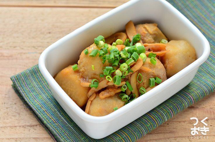 珍味を使って旨味たっぷり。里芋といかくんの煮物  【レシピサイトつくおき 】