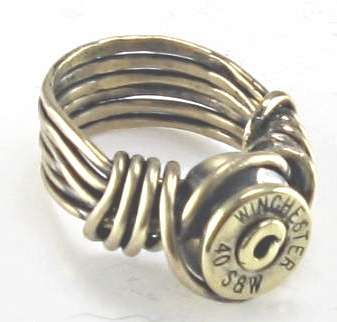 bullet ring - I'll be making this this weekend ~ well Rio and I will be, but shushhhhh he doesn't know it yet