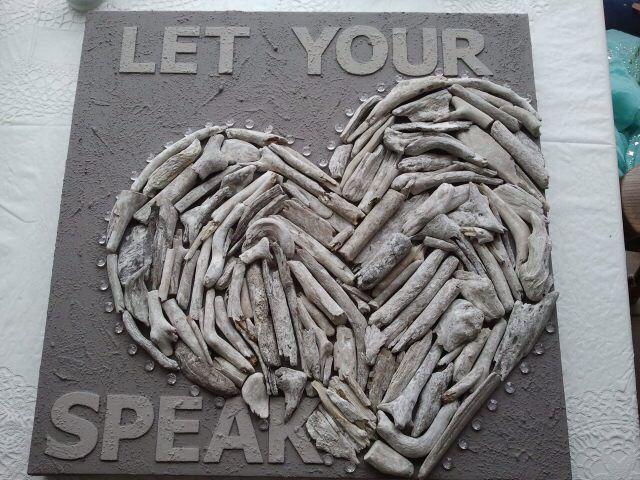Let your heart speak