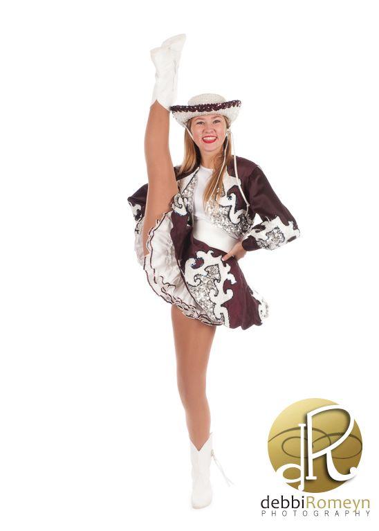 Rowlett High School Silver Rhythm Dancer Drill Team Portrait