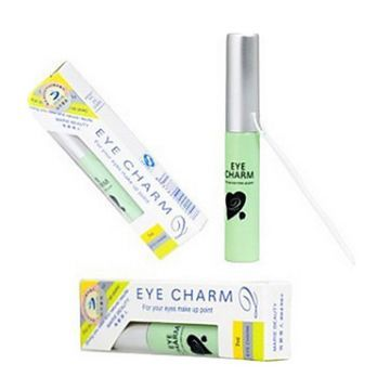 7ML - 1 Pc Eye Charm EyeLash and Double Eyelash Glue Clear White