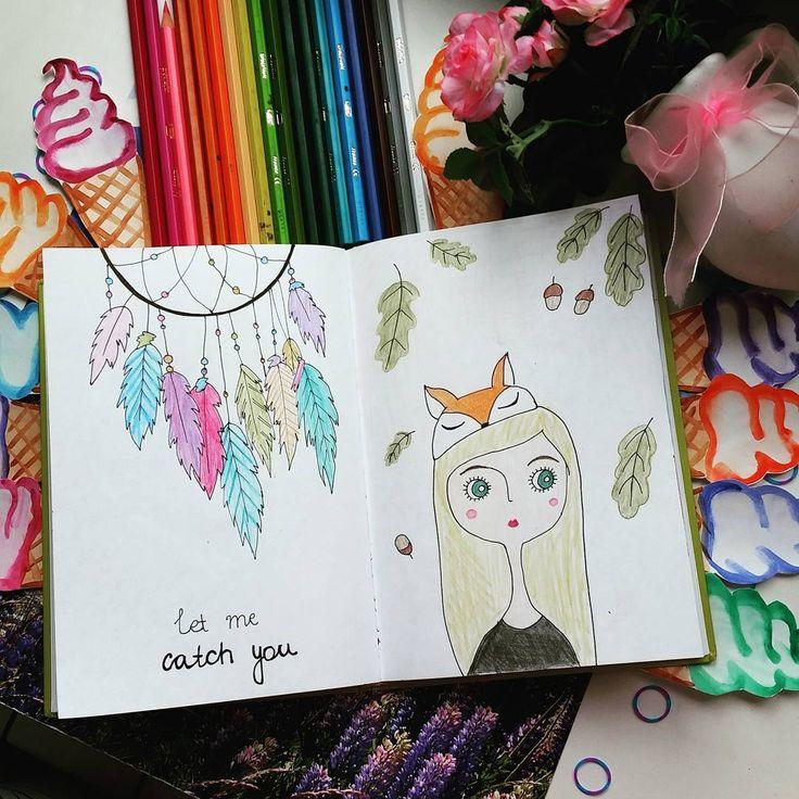 Рисовали такие рисунки в беседе с творческими людьми #ловецснов #рисунок #арт #drew #art #идеидлялд #лд #скетчбук #артбук #творческиелисята