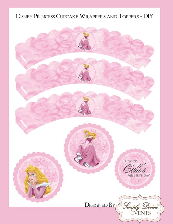 Disney Princess Aurora from Sleeping Beauty by adivineevent, $6.00