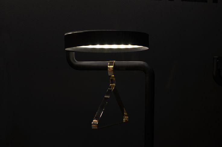 Hanger.37 in brass by DALILI