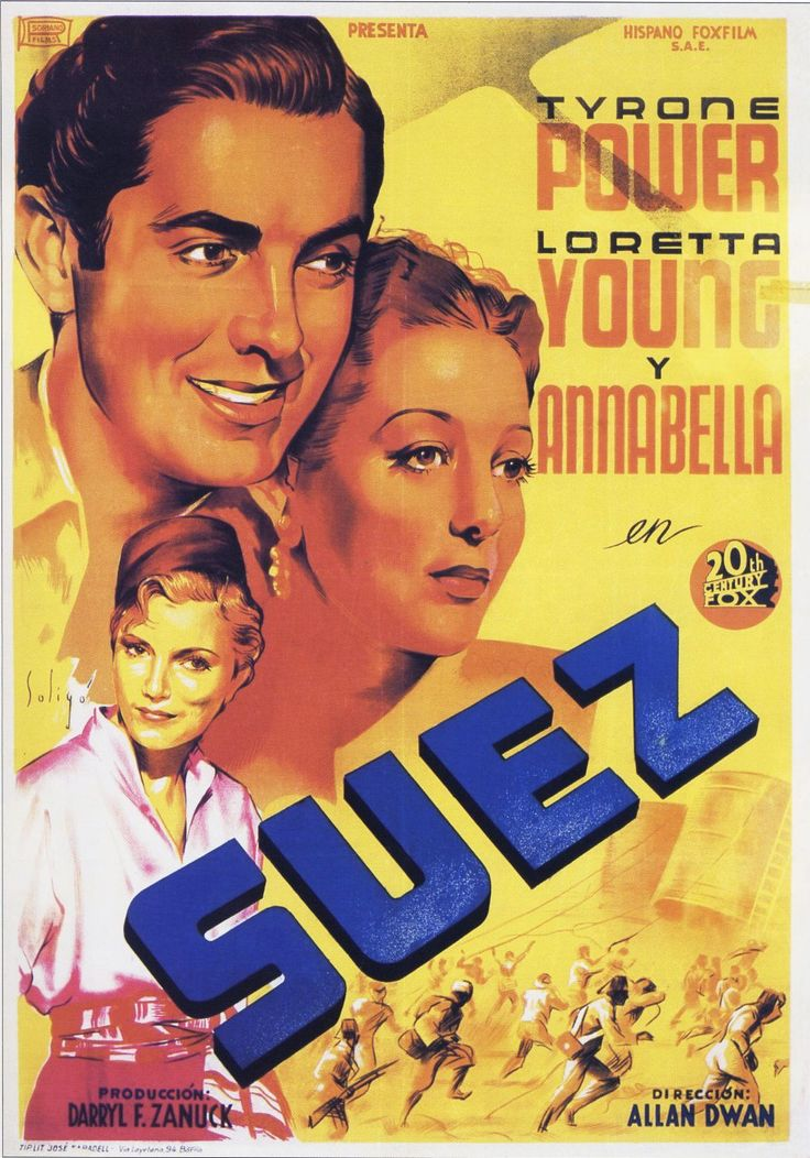 Suez (1938) de Allan Dwan - tt0030811