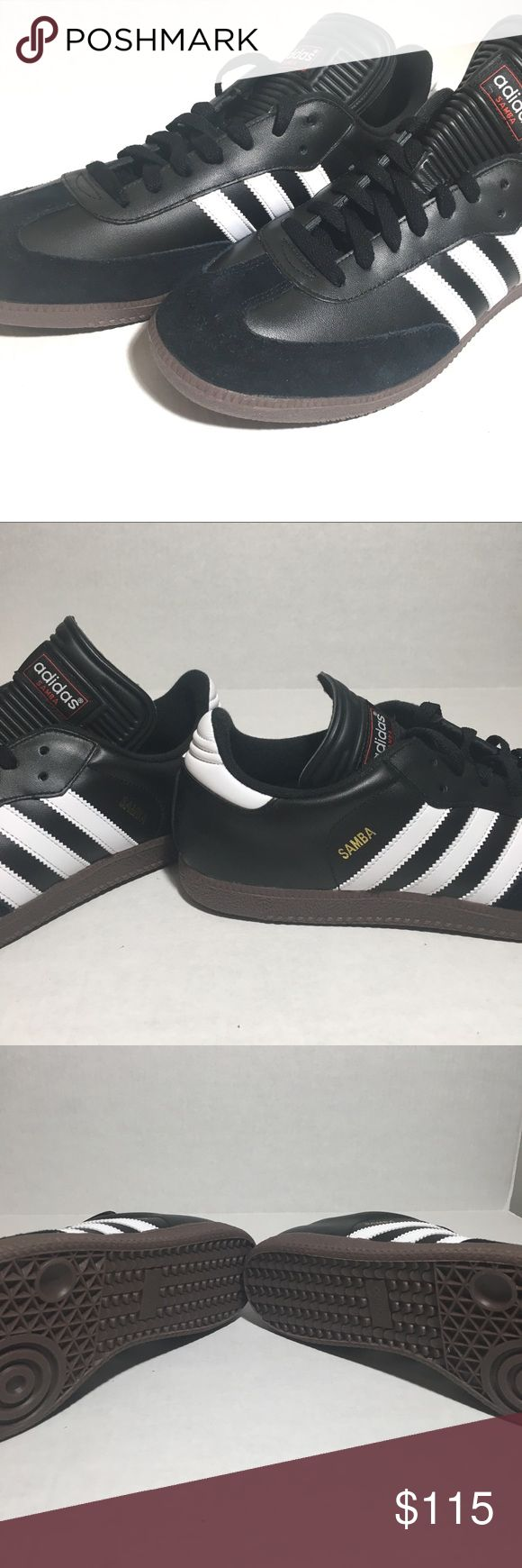 Adidas Samba Classic 034563 Black White Mens sz 12 Adidas Samba Classic 034563 Black White Mens US size 12  Offers welcome adidas Shoes Sneakers
