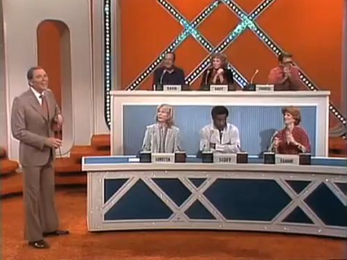 Match Game Marc Breslow Gene Rayburn Charles Nelson Reilly Brett Somers Fannie Flagg