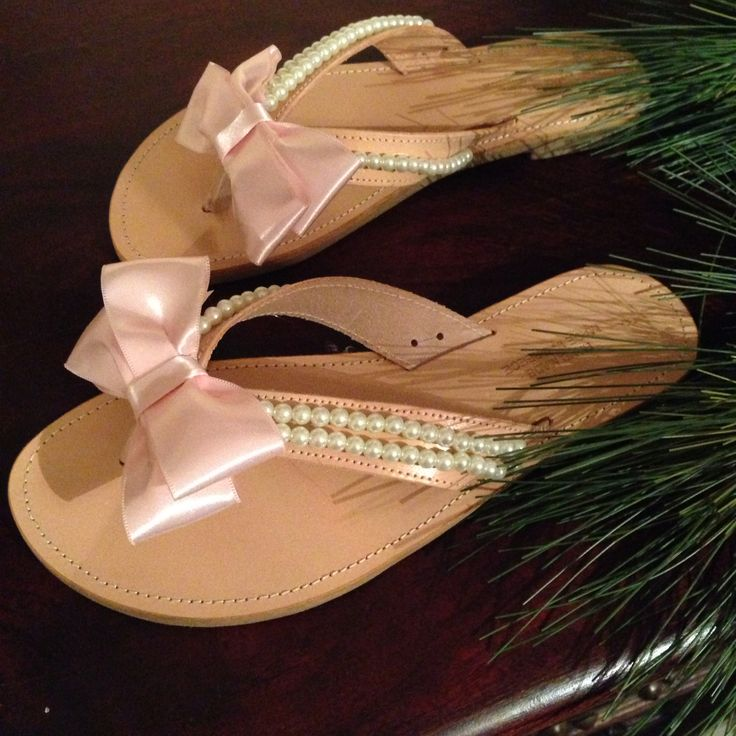 Wedding flip flops for a friend..