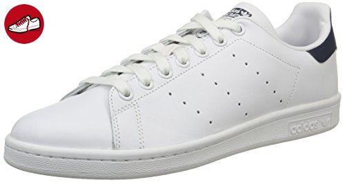 adidas Originals Stan Smith, Unisex-Erwachsene Sneakers, Weiß (Running White/Running White/New Navy), 40 2/3 EU (7 Erwachsene UK) - Adidas sneaker (*Partner-Link)