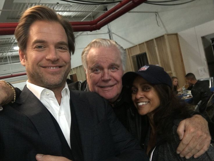 """Robert Wagner and Ramona showing love and support."" ~ Michael Weatherly"