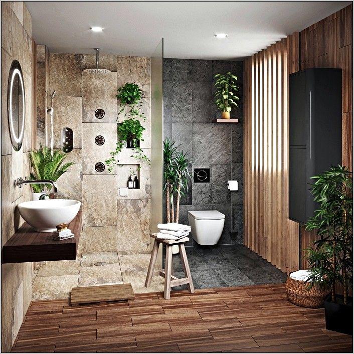 Epingle Par Jelena Kalajdjic Sur Bathroom Interior En 2020 Avec Images Amenagement Salle De Bain Salle De Bain Nature Salle De Bain Zen