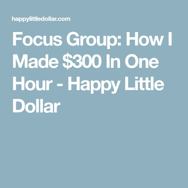 62 best financial peace other life lessons images on pinterest focus group how i made 300 in one hour happy little dollar fandeluxe Images