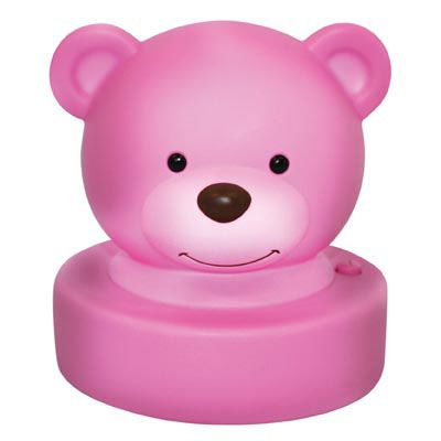 Goodnight Bear Night Light - Purple Price: $ 12.95  Adorable and super sweet bear purple night light!  No messy cords required as this cute night light is battery operated, creating a soft and comforting glow at the press of a button.  Makes a gorgeous addition to any childs room and a beautiful baby gift idea!  Little Boo-Teek - Goodnight Bear Night Light | Baby Gifts Online | IS Gift
