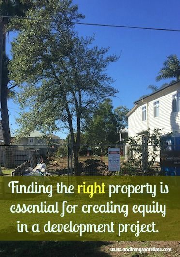 Finding the ideal house for renovation and development