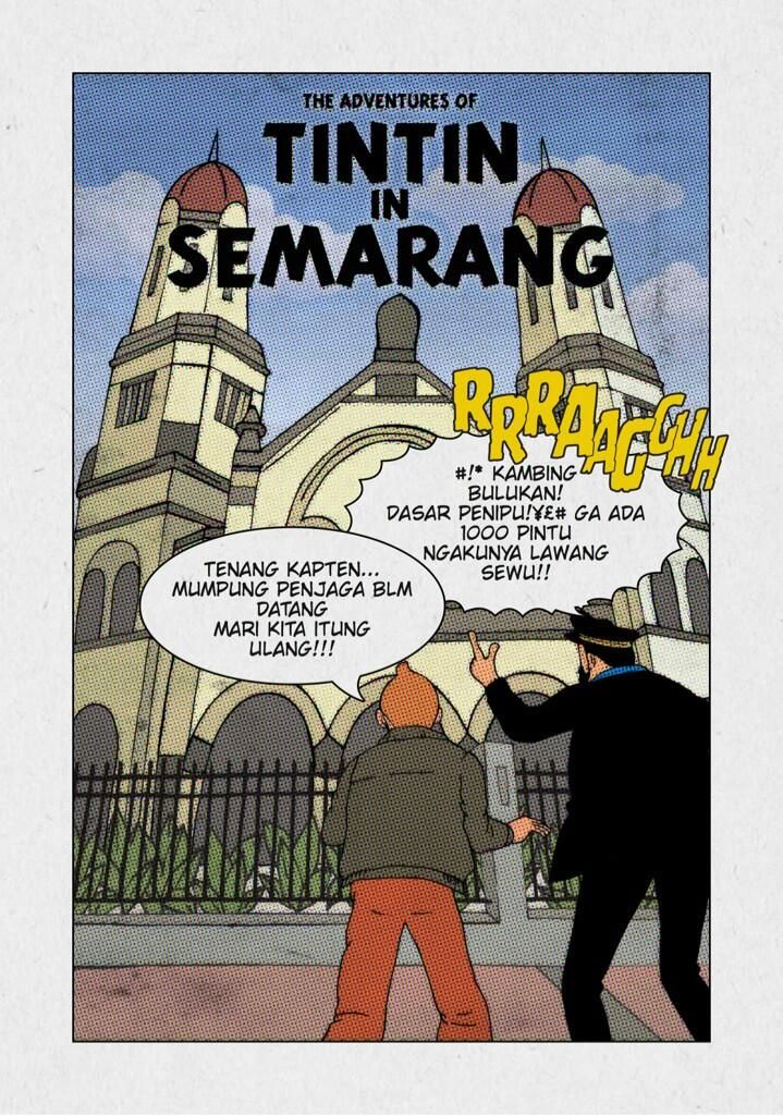 Tintin in Semarang
