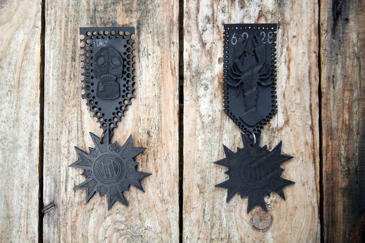 Médailles http://onemuze.com/vitrine/la-recyclette/