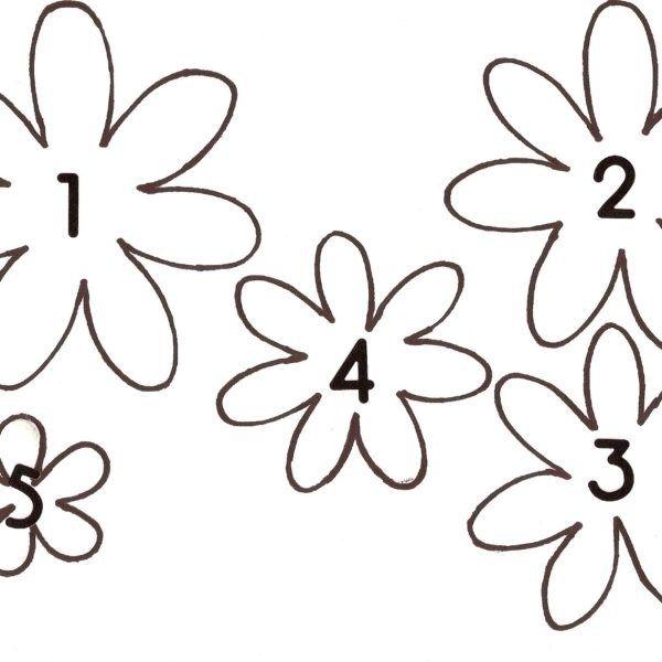 3d Flower Template Printable Rudycoby Throughout 3d Flower Pertaining Flower Templates Printable Free Paper Flower Templates Flower Templates Printable Free