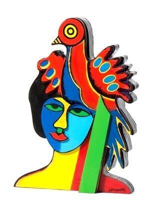 Corneille 1922 2010 Sculpture Originale Signée ET Numérotée Girl From Ipanema | eBay
