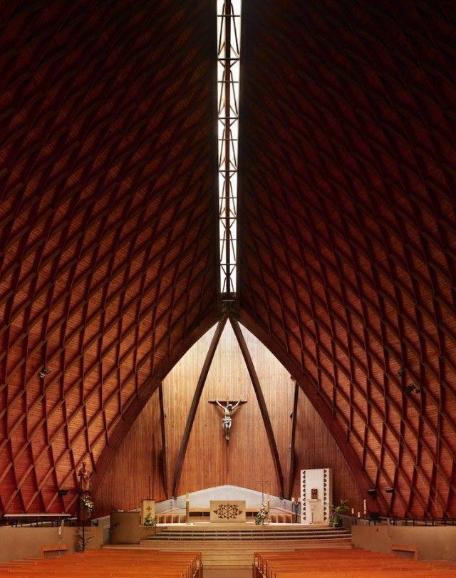 Modern Church Interiors Interior Design Architecture Pinterest