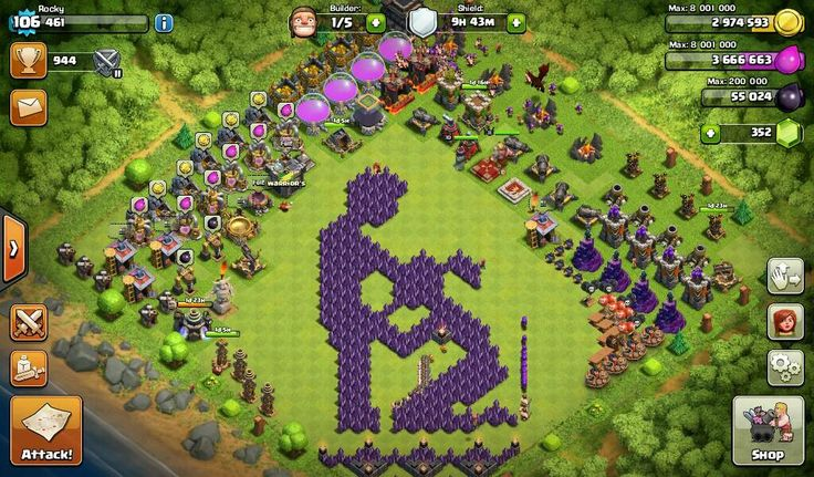109 Best Images About Clash Of Clans On Pinterest Hack