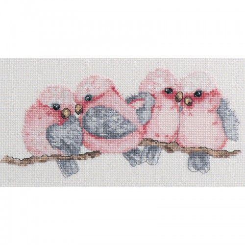 Lesley Suzanne Davies Galahs Cross Stitch Kit