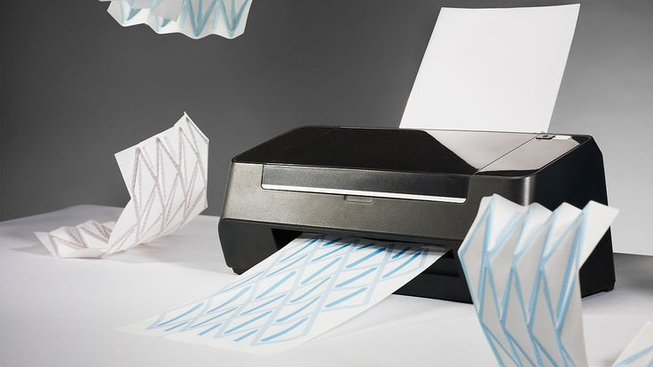 Hydrofolder makes origami folder out of a printer.