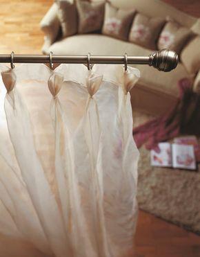 Los tonos plomo, bronce y oro-plata, junto con un remate de forja, le da el toque elegante a decoraciones mucho más clásicas o incluso rústicas.  http://www.homexpresion.com/49-barras-cortinas-forja-clasica