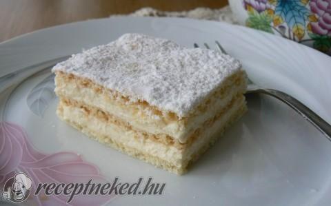 Omlós krémes recept fotóval