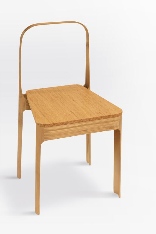 SERAMBI chair derived from the minimal and serene empty space of Malay traditional house veranda by embracing the manifestation of pure airy and lightness profile. The usage of bamboo pole as the...