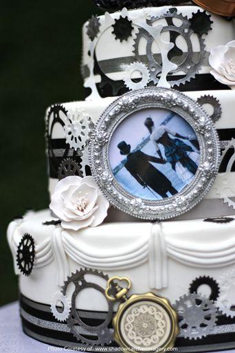 steampunk wedding cake - Google Search
