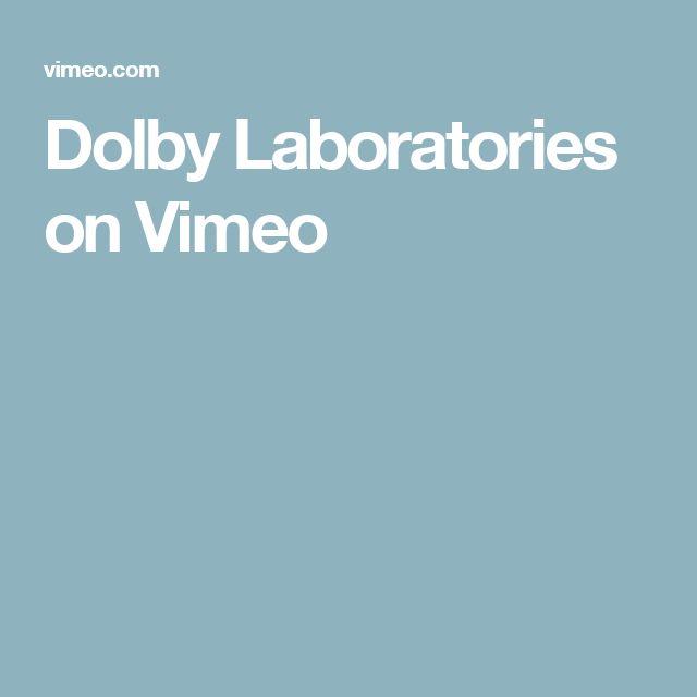 Dolby Laboratories on Vimeo