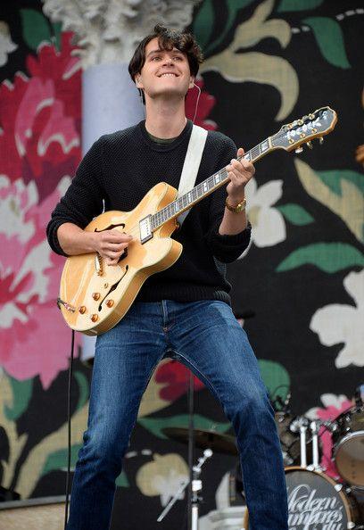 Ezra Koenig // Lollapalooza 2013 - Day 3