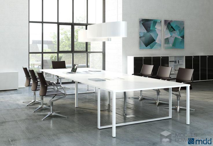 Biuro w lofcie, jasne pomieszczenie | Meble MDD