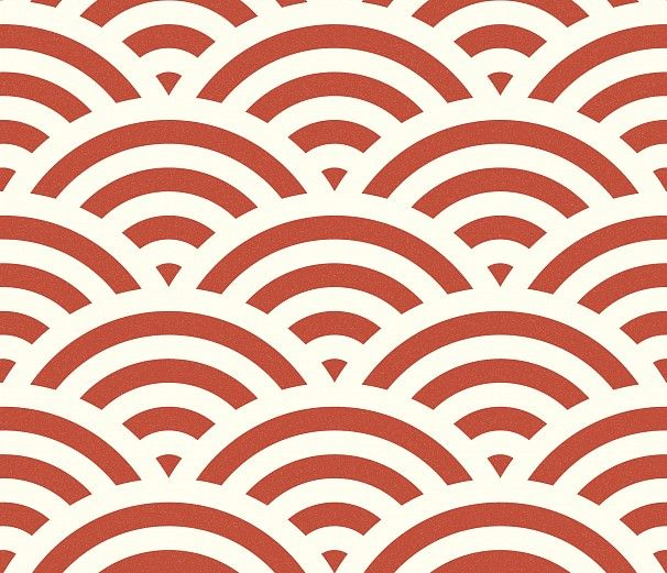 Tapete Japanische Muster : , Textilien, Verpackungen und vielem mehr. Tapete Seigaiha red