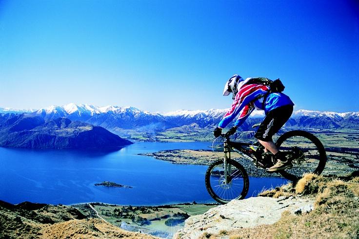 Simple bike ride - Wanaka