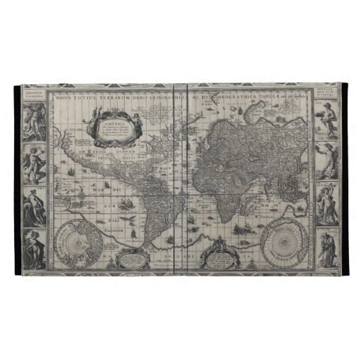 797 best Caseable Ipad Cases images on Pinterest Text messages - best of world map grey image