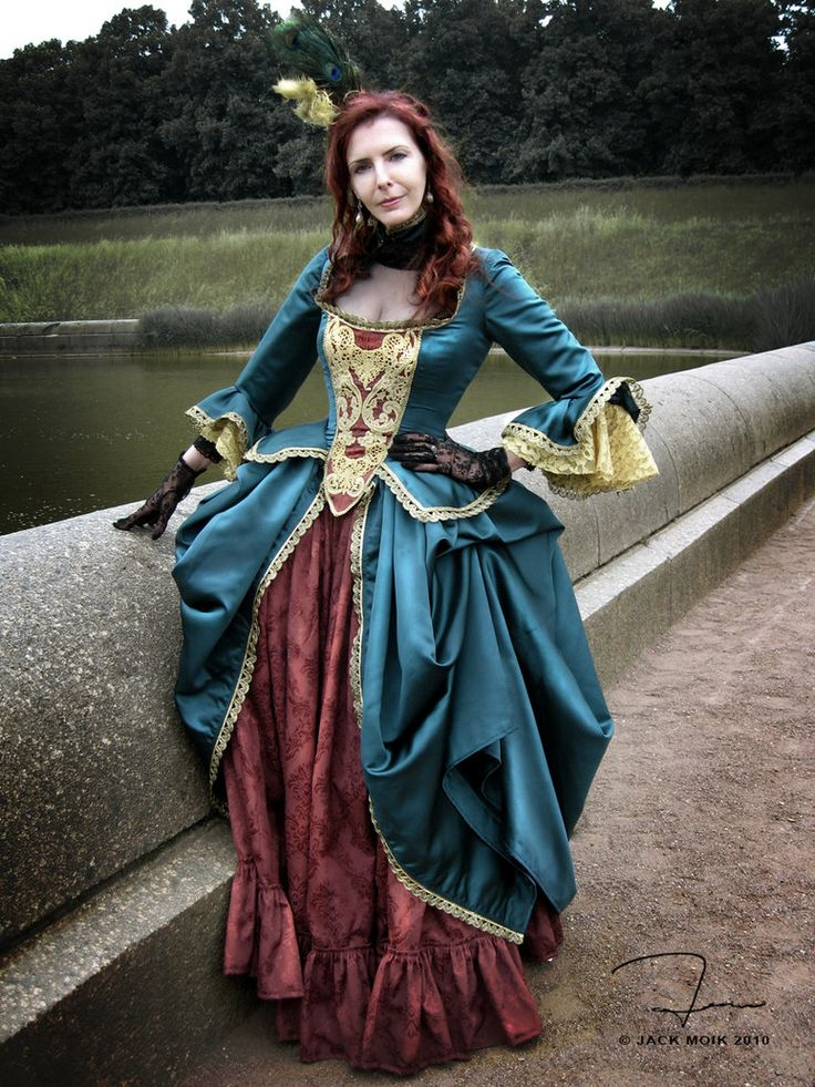 quotthe pattern is a french polonaise gown inspired by potc