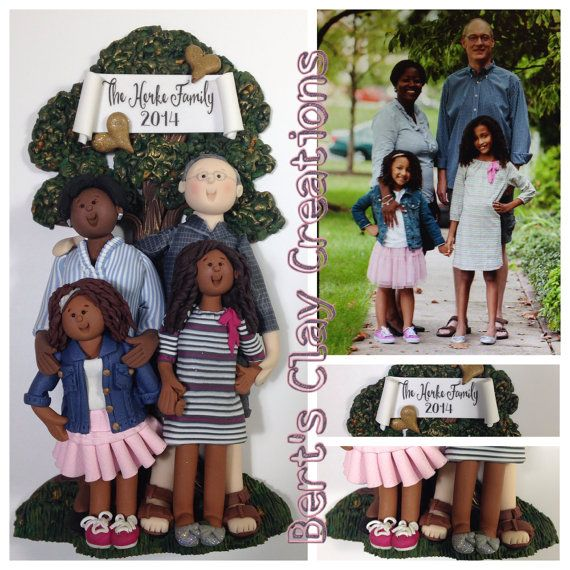 DEPOSIT for Custom Family Ornament - You MUST contact shop before placing deposit!