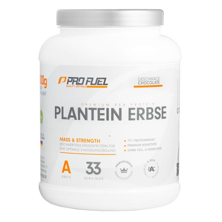Das ProFuel Plantein Erbsenprotein ist ein Proteinpulver. Es ist reich an Eiweiß und frei von Füllstoffen und Zusätzen. Es handelt sich um die Geschmachsrichtung Schokolade. Verwendungsempfehlung Empfohlen werden täglich 1...