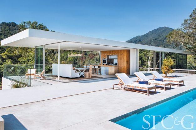 les 66 meilleures images du tableau pool house contemporain sur pinterest aires de jeux id es. Black Bedroom Furniture Sets. Home Design Ideas