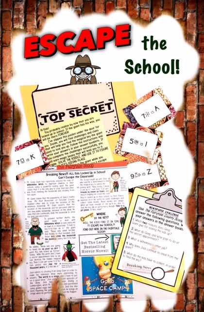 Escape Rooms For Kids Math Activities