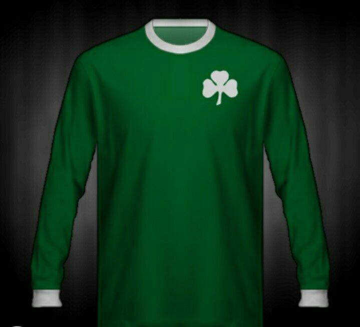 Panathinaikos shirt for the 1971 European Cup Final.
