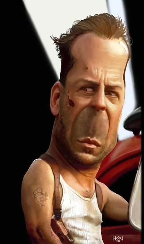 17 Best images about BRUCE WILLIS on Pinterest | Behance ...