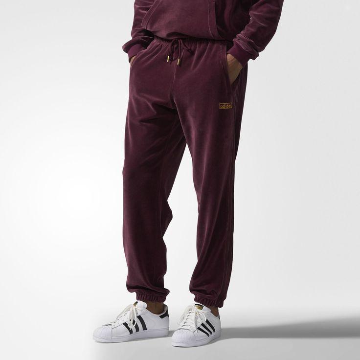 adidas - Velour Sweat Pants