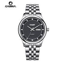 CASIMA watch men Stainless Steel Sapphire Automatic Self-Wind Business Fashion clock Calendar waterproof 100m man watch  # 6806(China (Mainland))