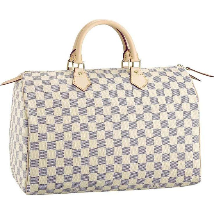 Louis Vuitton Speedy 35 Damier Azur Canvas N41535