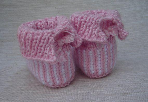 Stivaletti bambino Surrrenderbabbucce a maglia a di knittwice